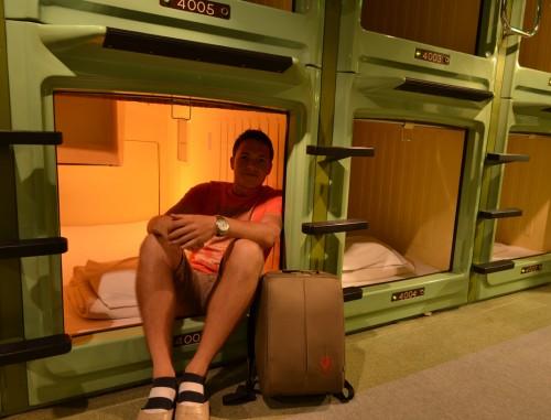 Capsule Hotel in Asakusa