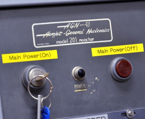Reactor main switch