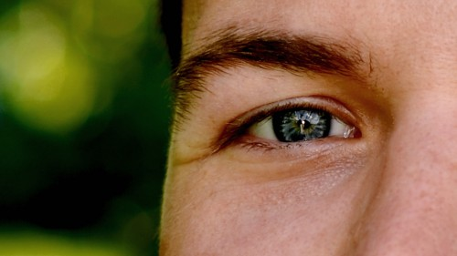 Erik's eye, picture shot by Magnus - Erik Winther 2012